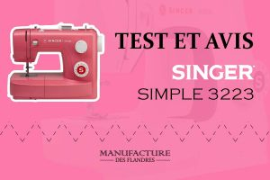 Avis et test de la machine à coudre Singer Simple 3223
